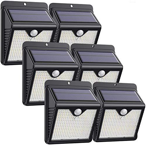 Solarlampen für Außen,【6 Stück】iPosible 150 LED Solar...