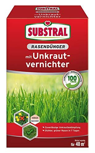 Substral 8229 Rasendünger mit Unkrautvernichter für 40 m², 0,8...