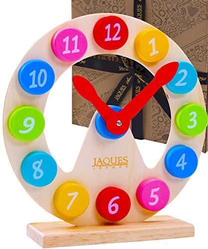 Jaques of London Lernuhr Kinder | Spielzeug ab 2 3 4 5 6 Jahre |...