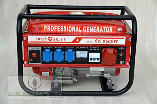 Kraftech / Benzin / Petrol / Stromerzeuger / Generator / PK-6500W...