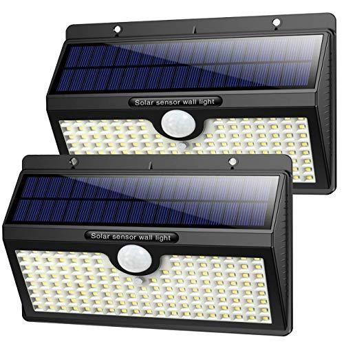 Solarlampen für Außen mit Bewegungsmelder,【2019 Superhelle...