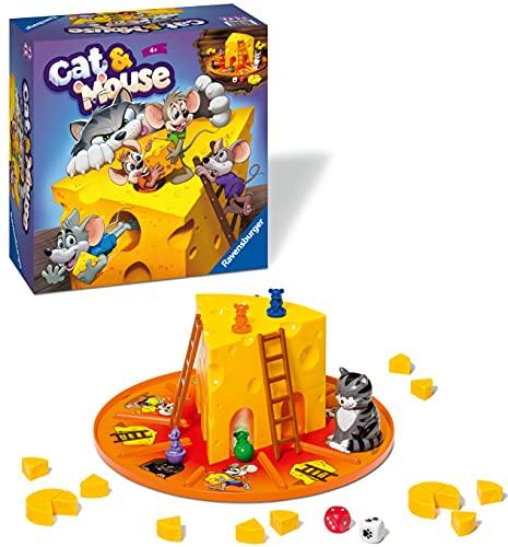 Ravensburger Brettspiel Katze und Maus für Kinder ab 4 Jahren
