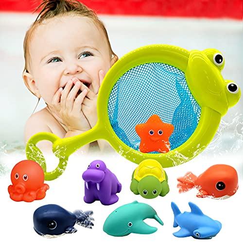 Euyecety Baby Badespielzeug Wasserspielzeug Kinder Badewannen...