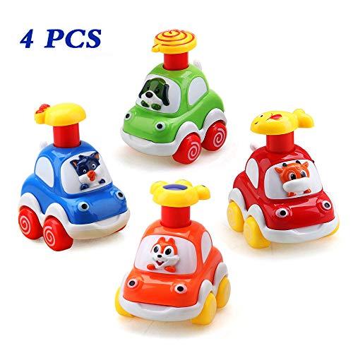 Amy & Benton Baby Spielzeugauto 1 Jahr, Aufziehautos ab 1 2 3...