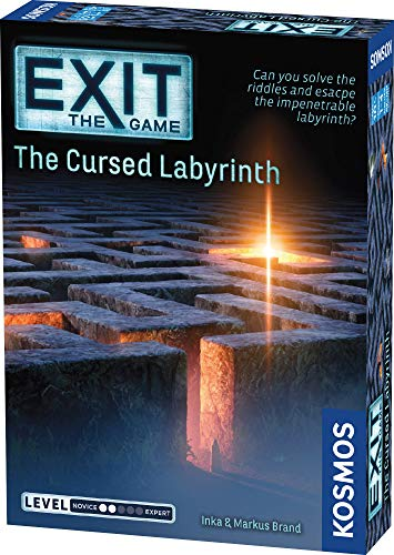 Thames & Kosmos | EXIT: The Cursed Labyrinth | 692860 | Level 2...