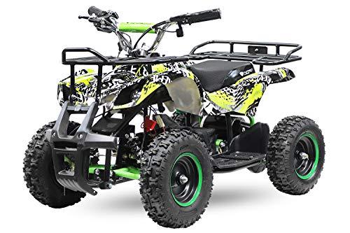 Eco Graffiti Mini Quad 1000W 48V 6 Zoll Kinderquad ATV...