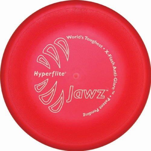 Hyperflite K10 Jawz Hunde Frisbee ROT X-FLASH ANTI GLANZ