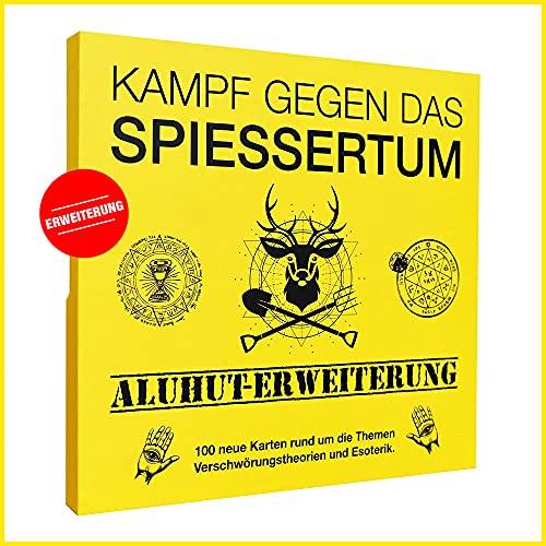 Kampf gegen das Spiessertum - Aluhut Erweiterung mit 100 neuen...