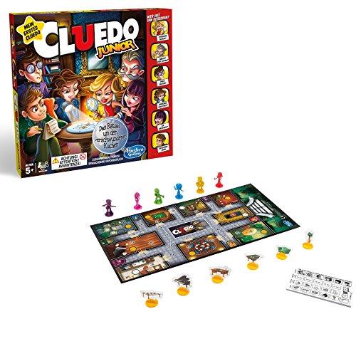 Hasbro Gaming Cluedo Junior Brettspiel für Kinder ab 5 Jahren, Das Rätsel um das...