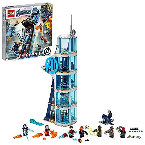 LEGO Marvel Avengers: Avengers Tower Battle 76166 Collectible...