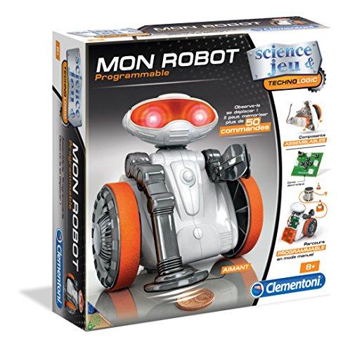 Clementoni–52113- Mon Robot - wissenschaftliches Spiel