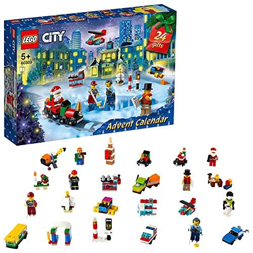 LEGO 60303 City Adventskalender 2021 Mini-Bauset, Spielzeug für...