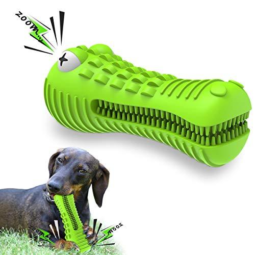 Sixmill Hundespielzeug Hundezahnbürste Unzerstörbar Quietschend...