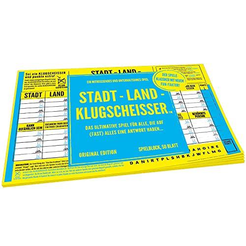Kylskapspoesi 43030 - Spielblock – Klugscheisser