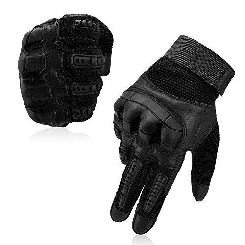 VBIGER Motorradhandschuhe Taktische Handschuhe Vollfinger Handschuhe für Motorrad...