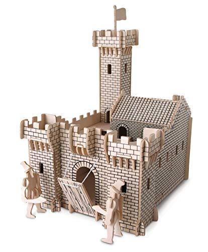 Quay P314 Knight Castle Woodcraft Bausatz FSC, braun