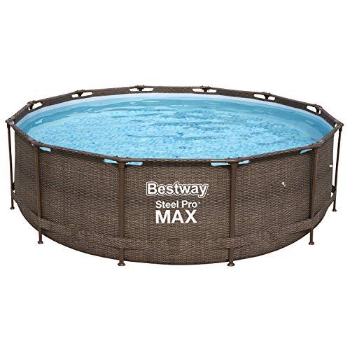 Bestway Steel Pro MAX Deluxe Series Frame-Pool, 366 x 366 x 100...