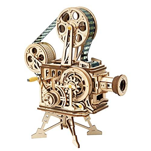 KUKU Mechanisch Holz Modellbau, 3D Puzzle Holz Erwachsene...