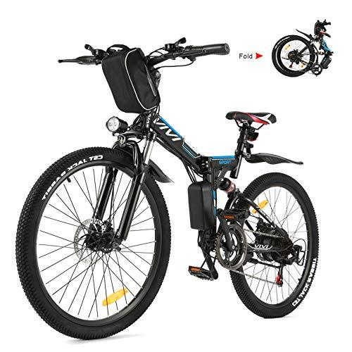 VIVI E-Bike Mountainbike, 26 Zoll E-Bike Klapprad, 250W Ebike...