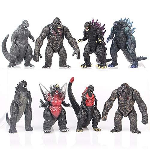 ghfdhf Godzilla Figuren, Godzilla vs Kong Toys King of Monsters...