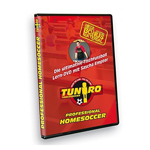 Tuniro® Tischfussball Lern DVD Tischkickerzubehör Kicker Kickertisch Training Professional...