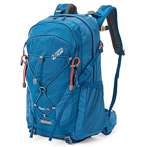 Terra Peak Flex 30 Trekkingrucksack blau 30 Liter Volumen...