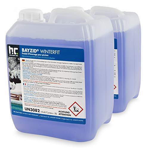 Höfer Chemie 2 x 5 L Pool Wintermittel - BAYZID Winterfit...