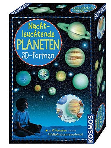 KOSMOS 678012 Nachtleuchtende Planeten, 3D-Formen, Wandsticker...