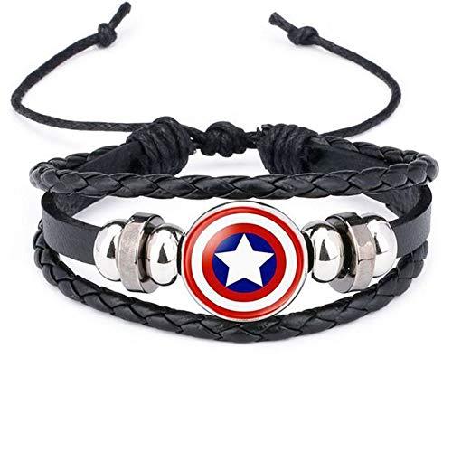 Towel Rings Captain America Schild Armband Marvel Superhelden...