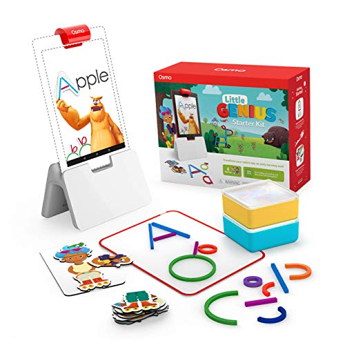 Osmo - Little Genius Starter Kit für Fire Tablet - 4 praktische...