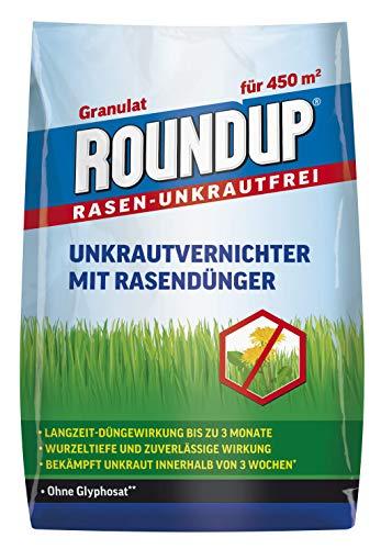 Roundup Rasen-Unkrautfrei Rasendünger, 2in1, Unkrautvernichter...
