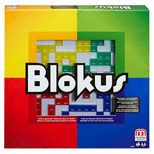 Mattel Games BJV44 - Blokus Strategiespiel und...