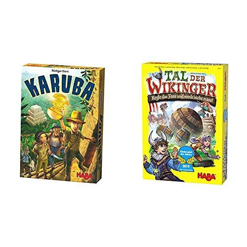 Haba 300932 - Karuba, Strategie- und Brettspiel für die ganze...
