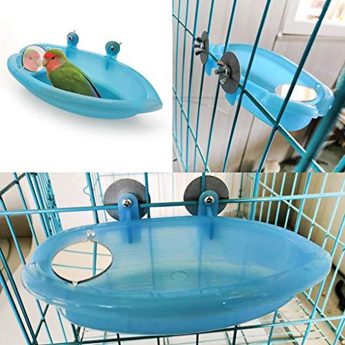 Vogel-Badewanne für Papageien, Vogelkäfig-Zubehör,...