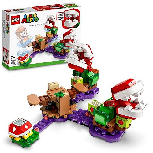 LEGO 71382 Super Mario Piranha-Pflanzen-Herausforderung – Erweiterungsset,...