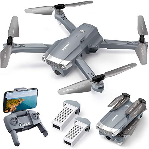 SYMA RC Drohne mit Kamera 4K HD faltbar Quadrocopter...