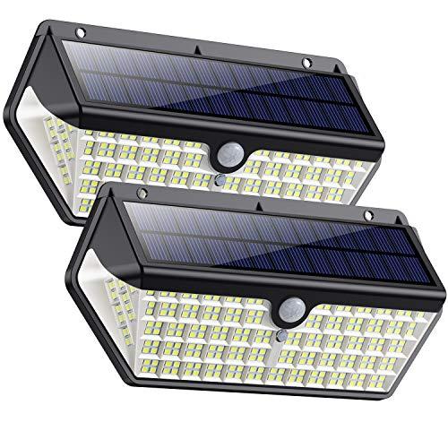 Solarlampen für Außen,SWEYE Solar Bewegungsmelder...