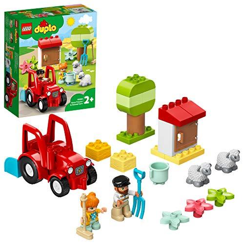 LEGO 10950 DUPLO Traktor und Tierpflege Kleinkinder Spielzeug ab...