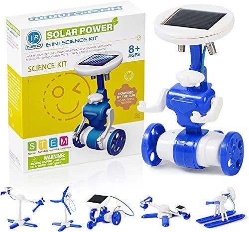 Ciro 850003419794 Solarroboter, Mehrfarbig