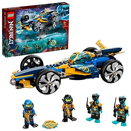 LEGO 71752 NINJAGO Ninja-Unterwasserspeeder, U-Boot Spielzeug ab...