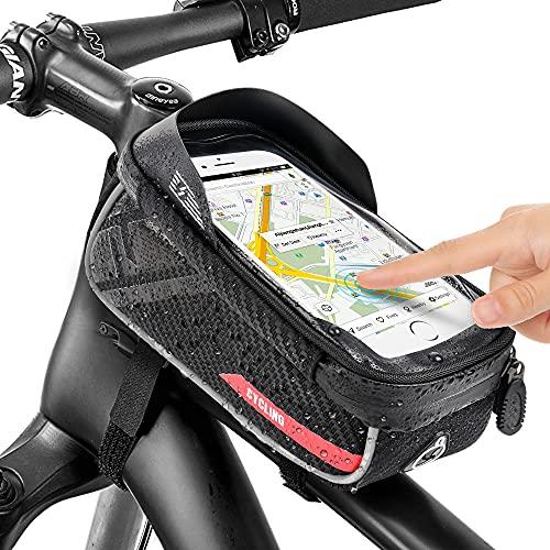 Jooheli Fahrrad Rahmentasche Wasserdicht Handyhalterung Fahrrad...