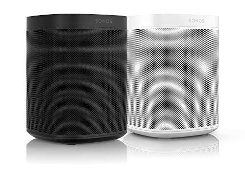 Sonos One Smart Speaker 2-Raum Set, weiß / schwarz –...