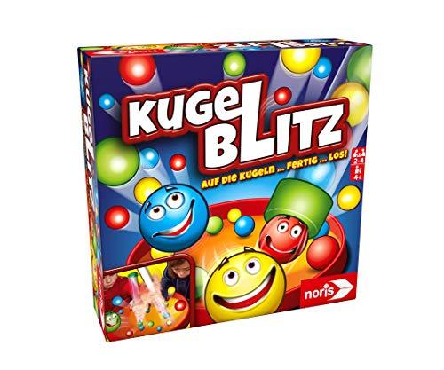 Noris 606064480 Kugelblitz, das blitzschnelle Actionspiel mit...
