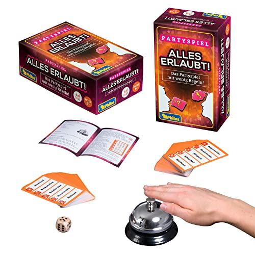 Philos 5203 - Alles erlaubt, Partyspiel, 110 Spielkarten,...