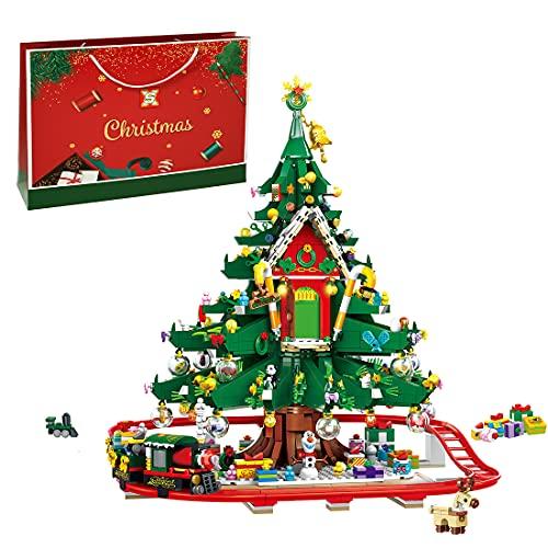 Myste Weihnachten Bausteine Bauset, 2126 Teile 2021 Weihnachten...