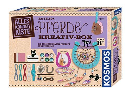 KOSMOS 604363 AllesKönnerKiste Pferde Kreativ-Box. DIY-Bastelset...