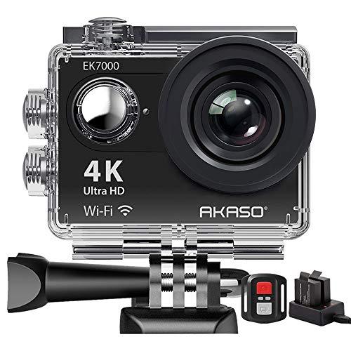 Action Cam,AKASO 4K WiFi Action Kamera/Unterwasserkamera...