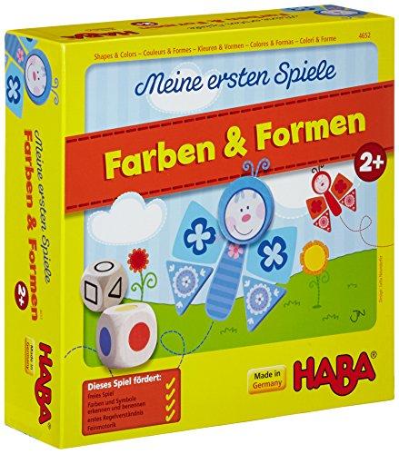 HABA 4652 - Farben & Formen, erste Spielesammlung für Kinder ab...