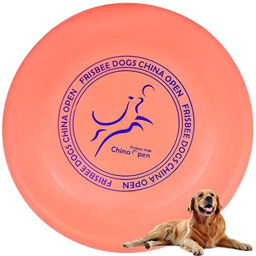 Demason Hundefrisbee Frisbee aus Kautschuk Intelligenzspielzeug...
