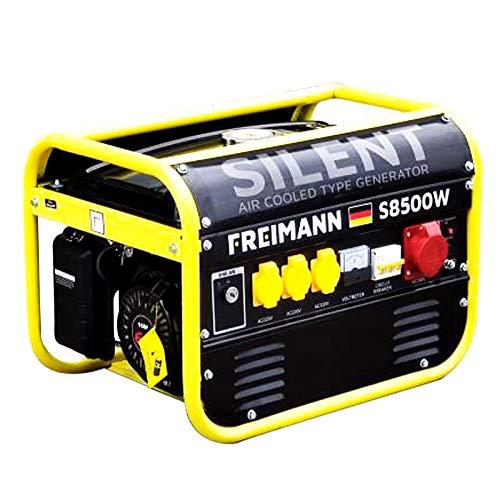 Notstromaggregat Benzin Stromerzeuger Generator Strom Aggregat...